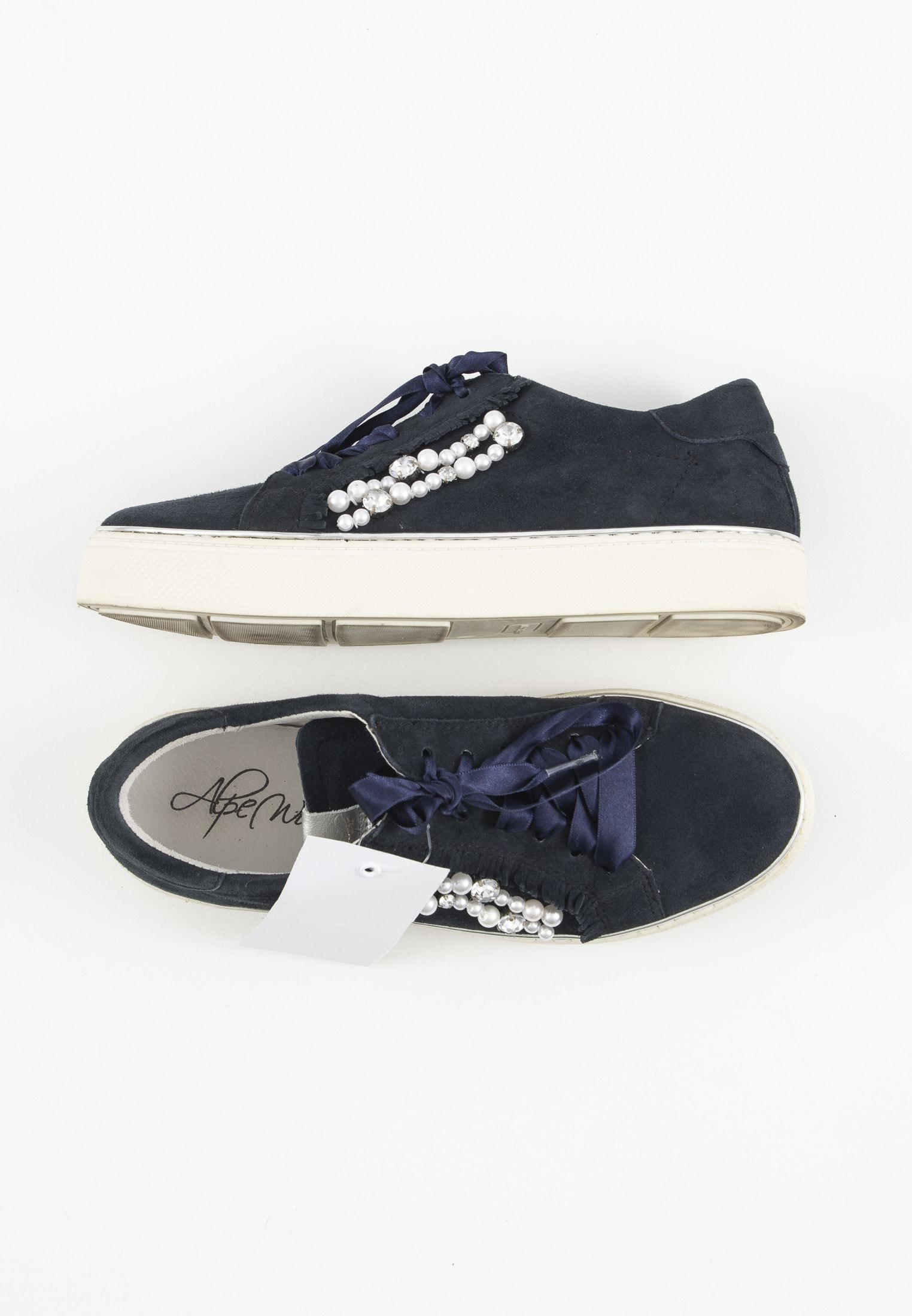 Alpe Sneakers Blau Gr.37