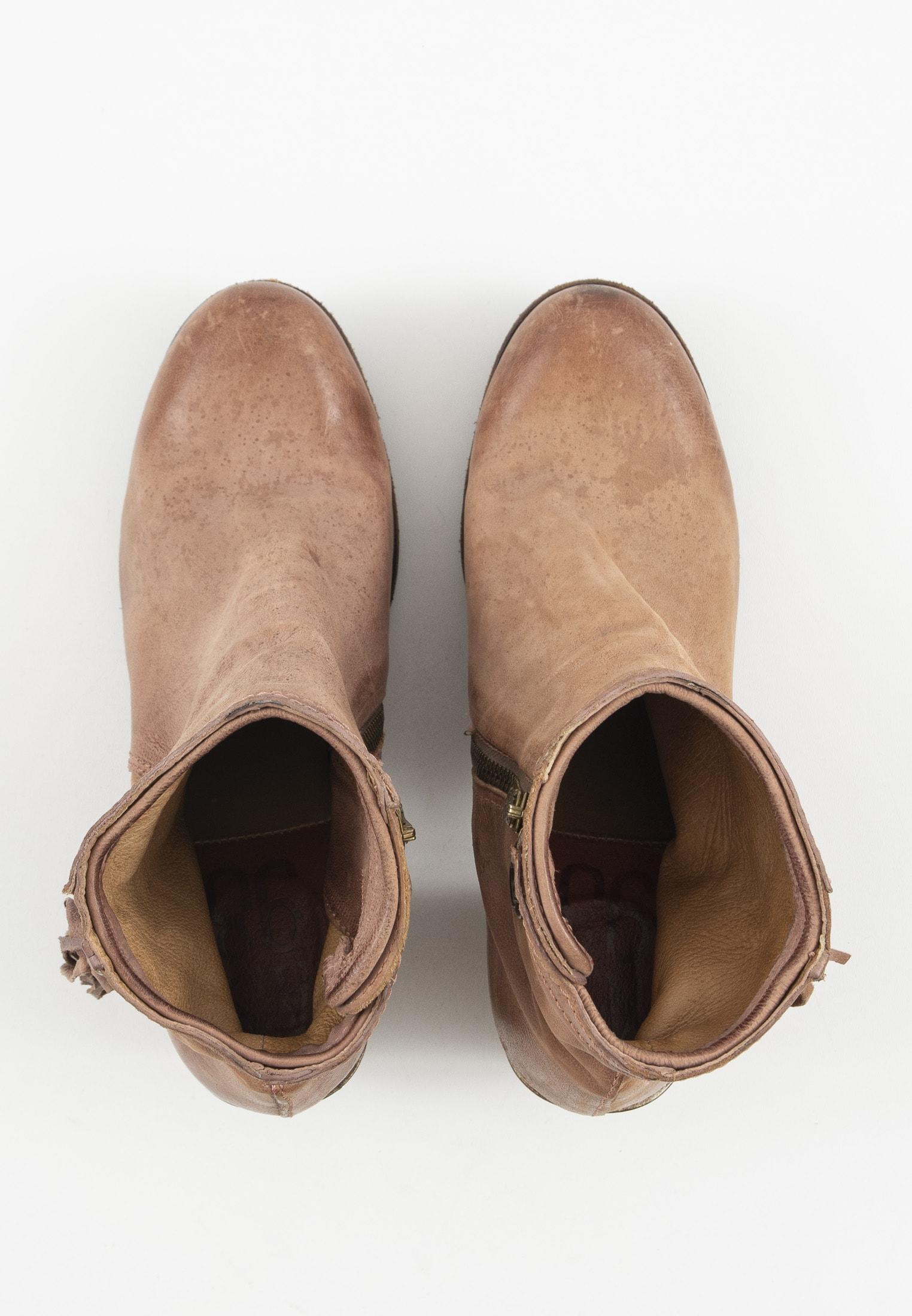 A.S.98 Stiefel / Stiefelette / Boots Braun Gr.39