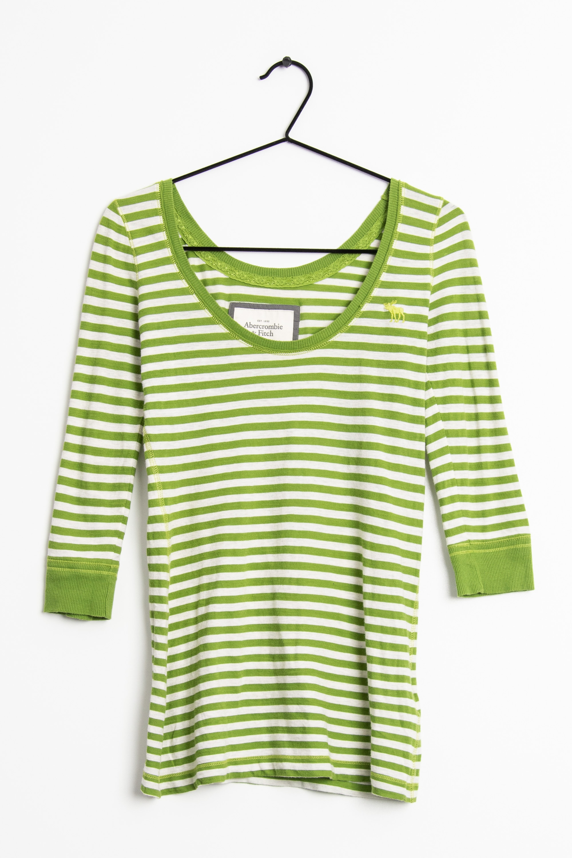 Abercrombie & Fitch Langarmshirt Grün Gr.XS