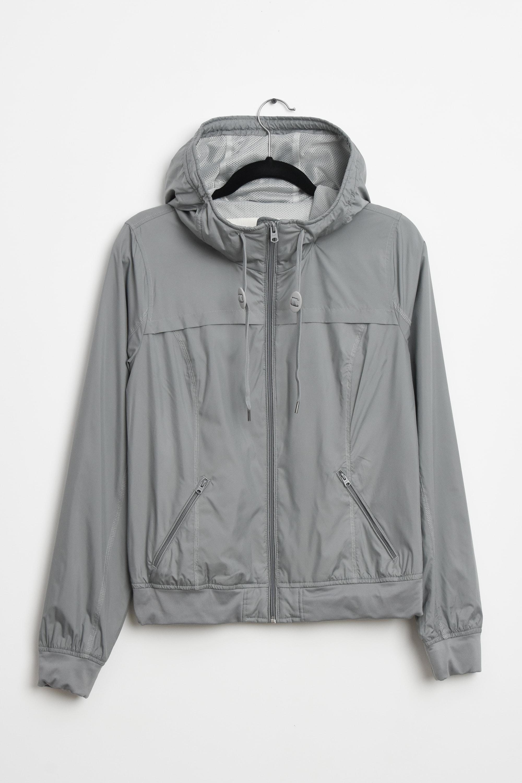 Abercrombie & Fitch Leichte Jacke / Fleecejacke Grau Gr.L