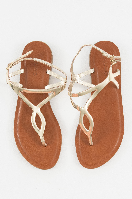 ALDO Sandale Beige Gr.36