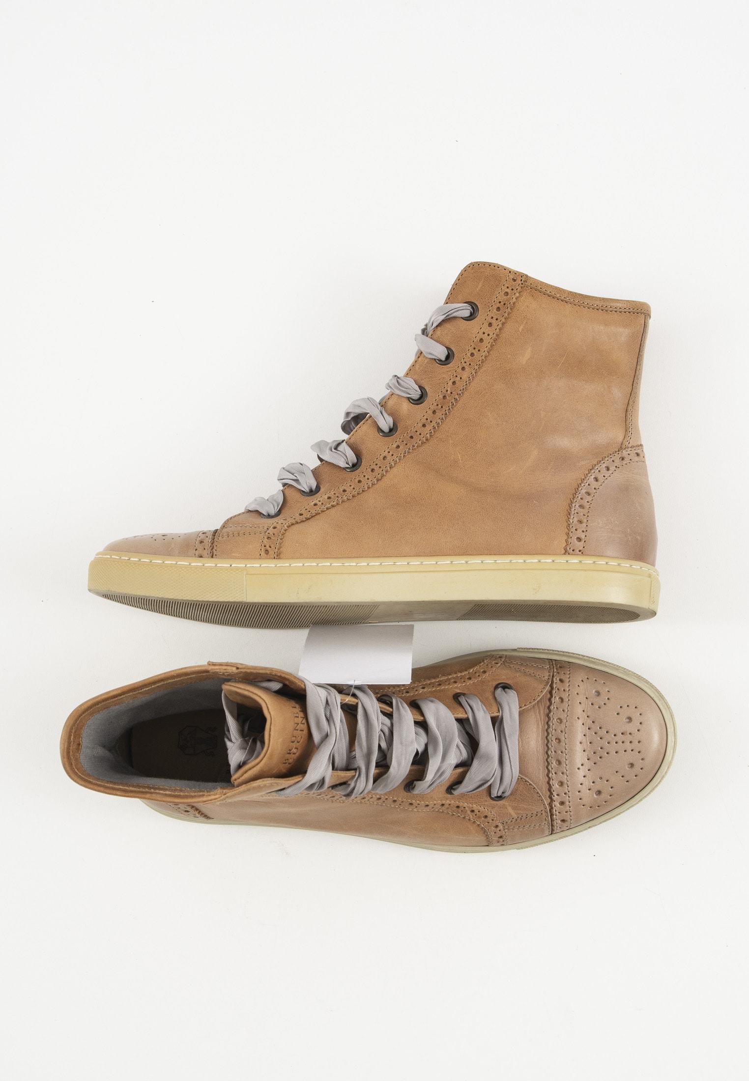 Brunello Cuccinelli Sneakers Beige Gr.38
