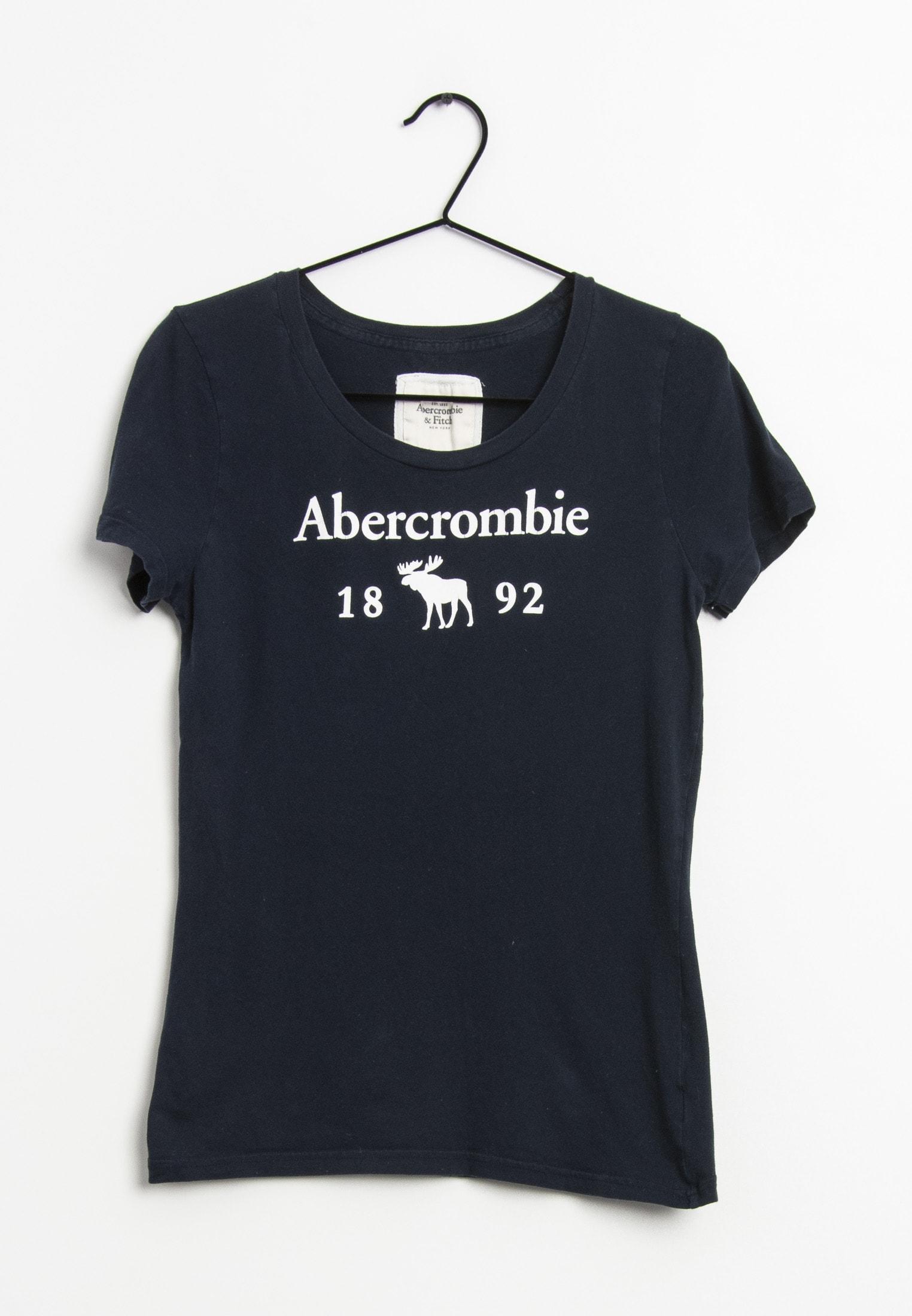 Abercrombie & Fitch T-Shirt Blau Gr.L