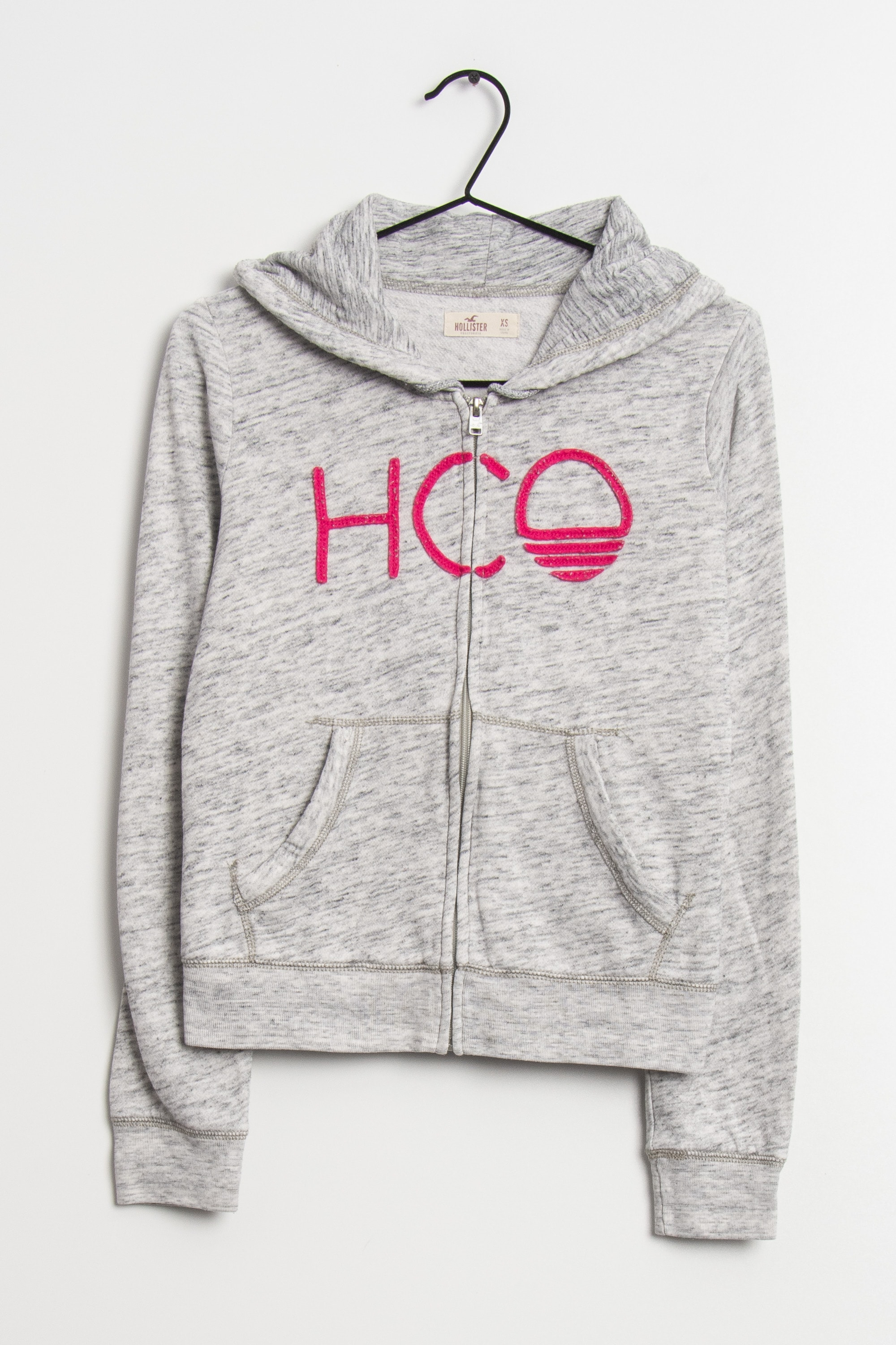 Hollister Co. Sweat / Fleece Grau Gr.XS