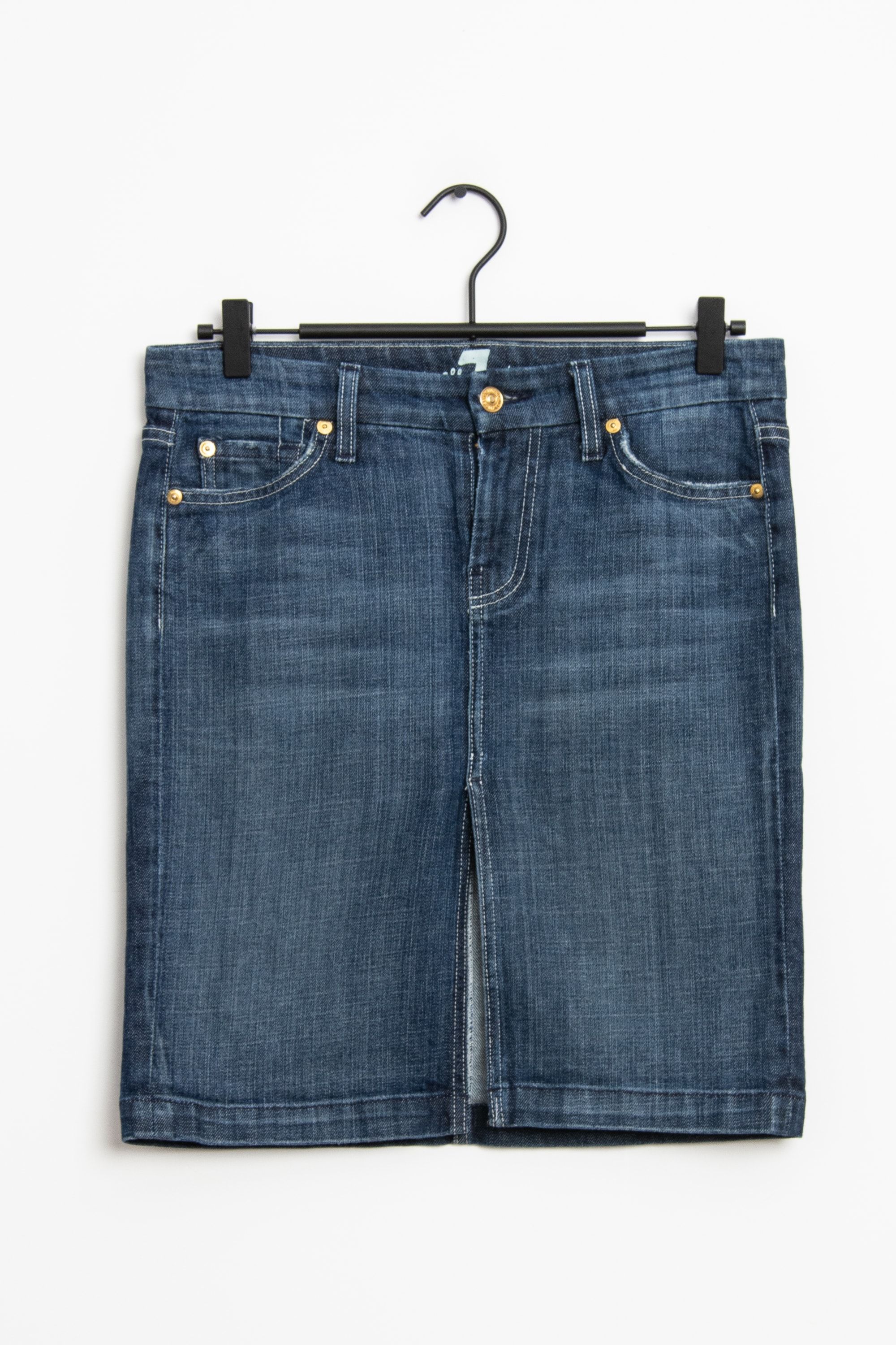 7 for all mankind Rock Blau Gr.S