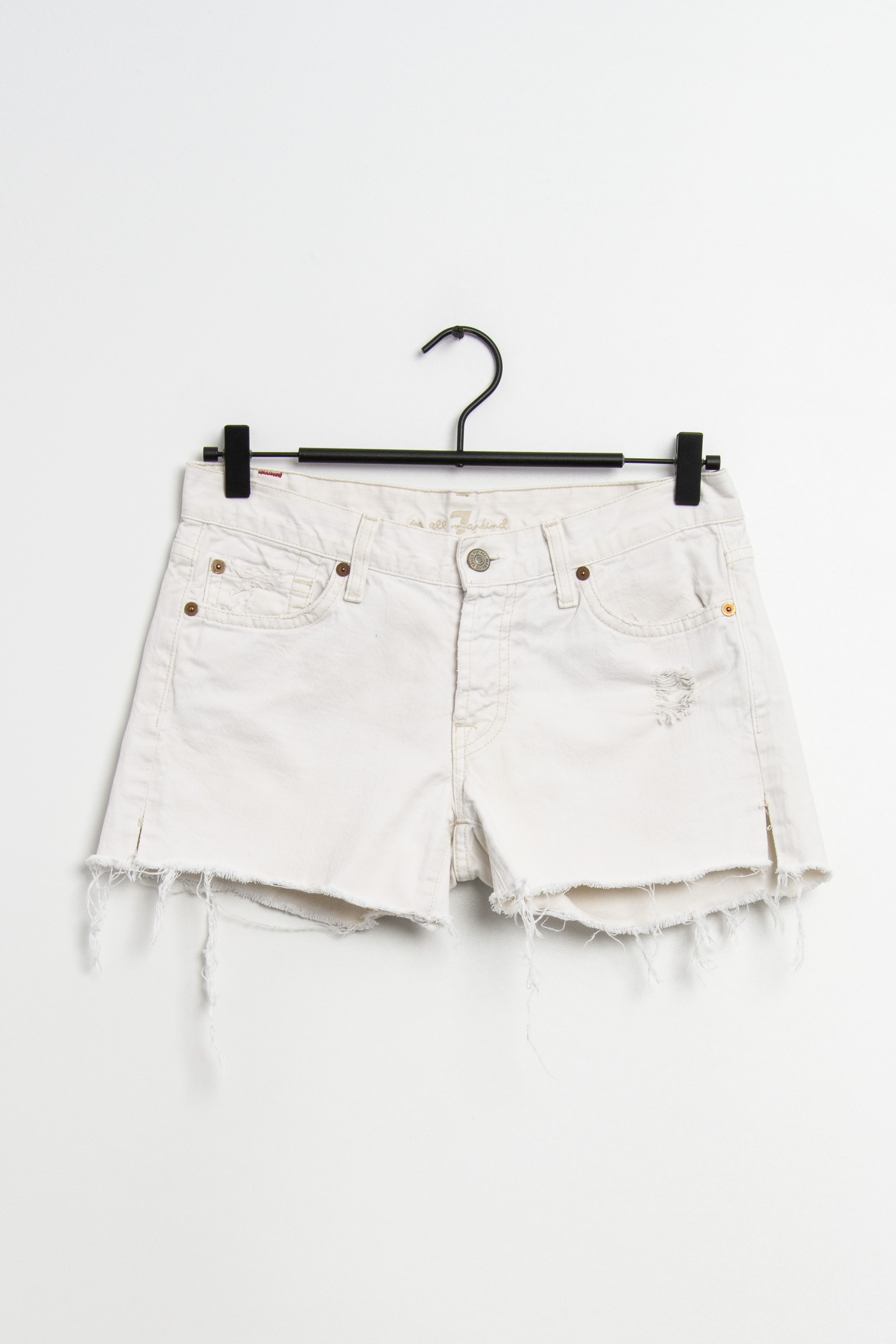 7 for all mankind Shorts Weiß Gr.S