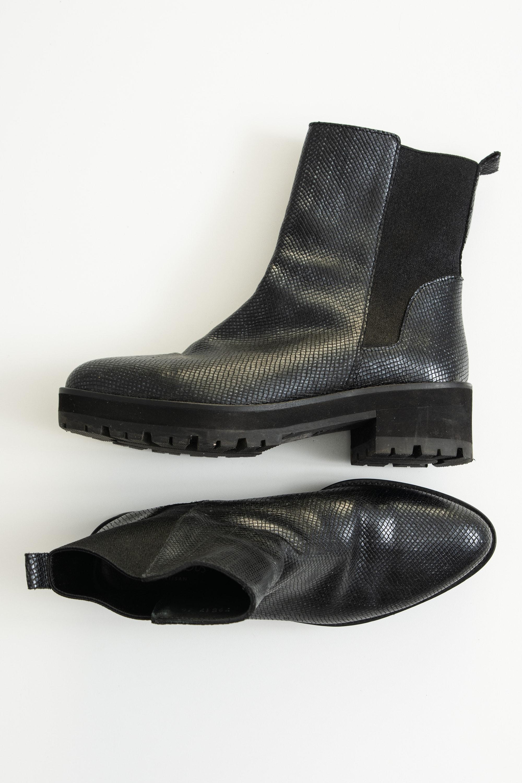 Homers Stiefel / Stiefelette / Boots Schwarz Gr.38