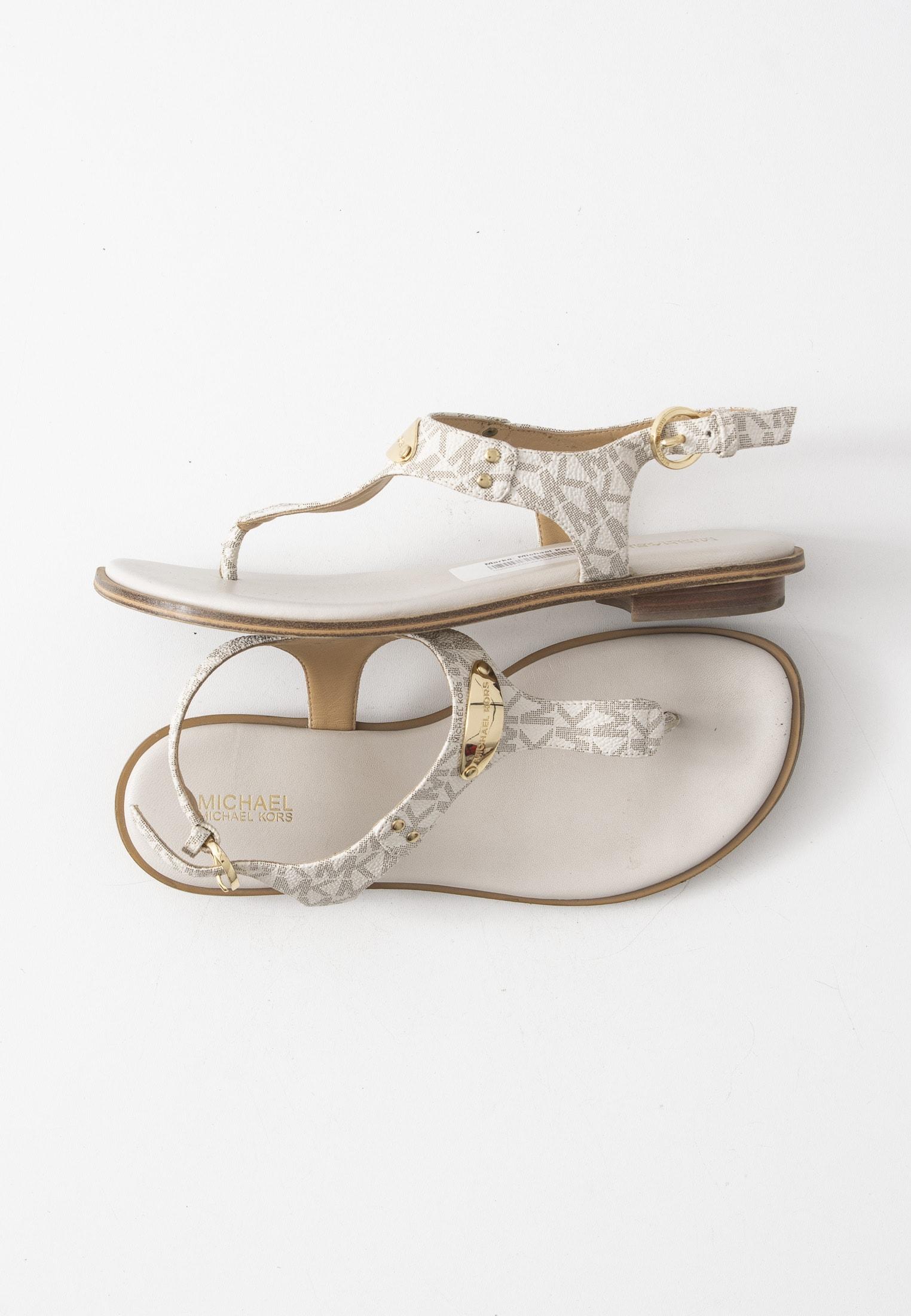 Michael Kors Collection Sandale Weiß Gr.37