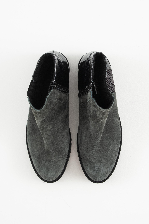 Semler Stiefel / Stiefelette / Boots Grün Gr.35