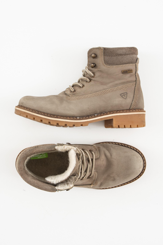 Tamaris Stiefel / Stiefelette / Boots Grau Gr.39