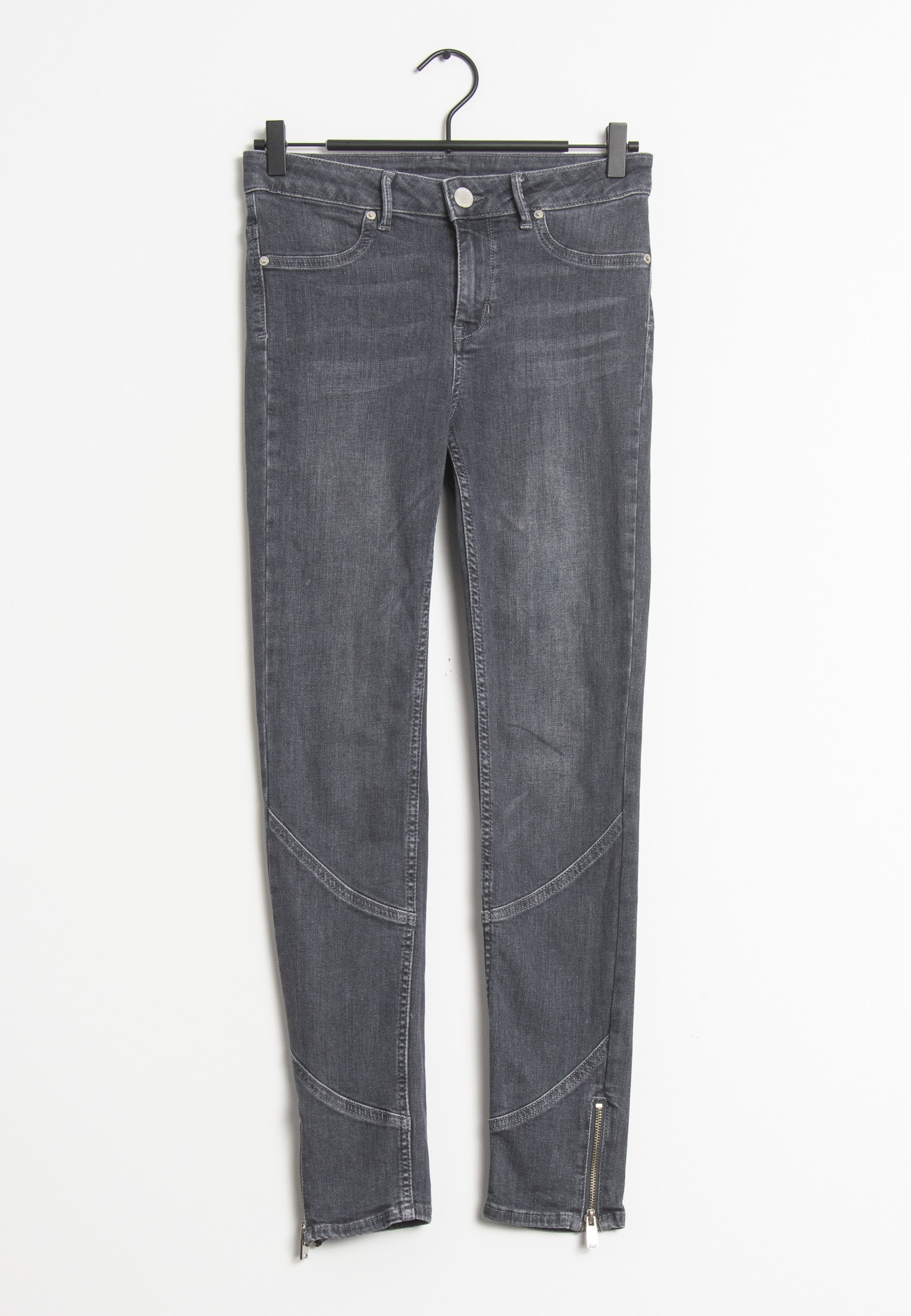 2nd Day Jeans Grau Gr.S