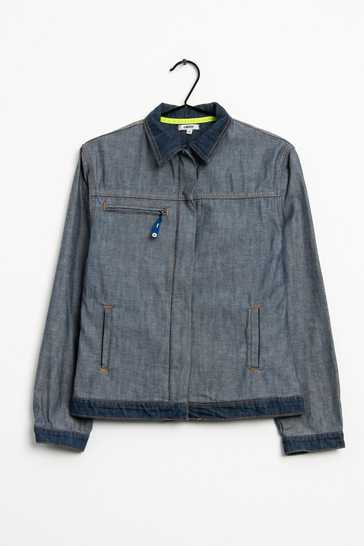 DKNY Leichte Jacke / Fleecejacke Blau Gr.40