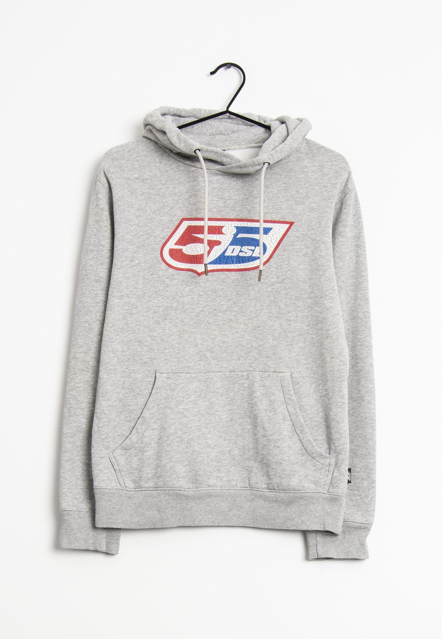 55 DSL Sweat / Fleece Grau Gr.XS