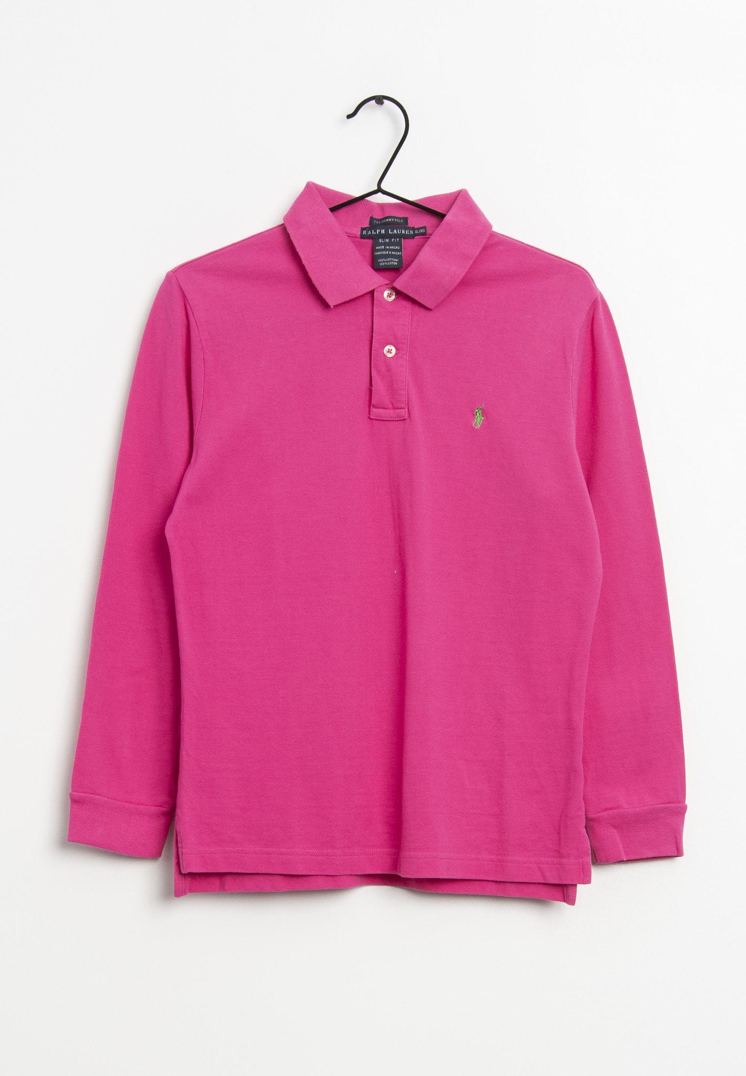 Polo Ralph Lauren Langarmshirt Pink Gr.XL