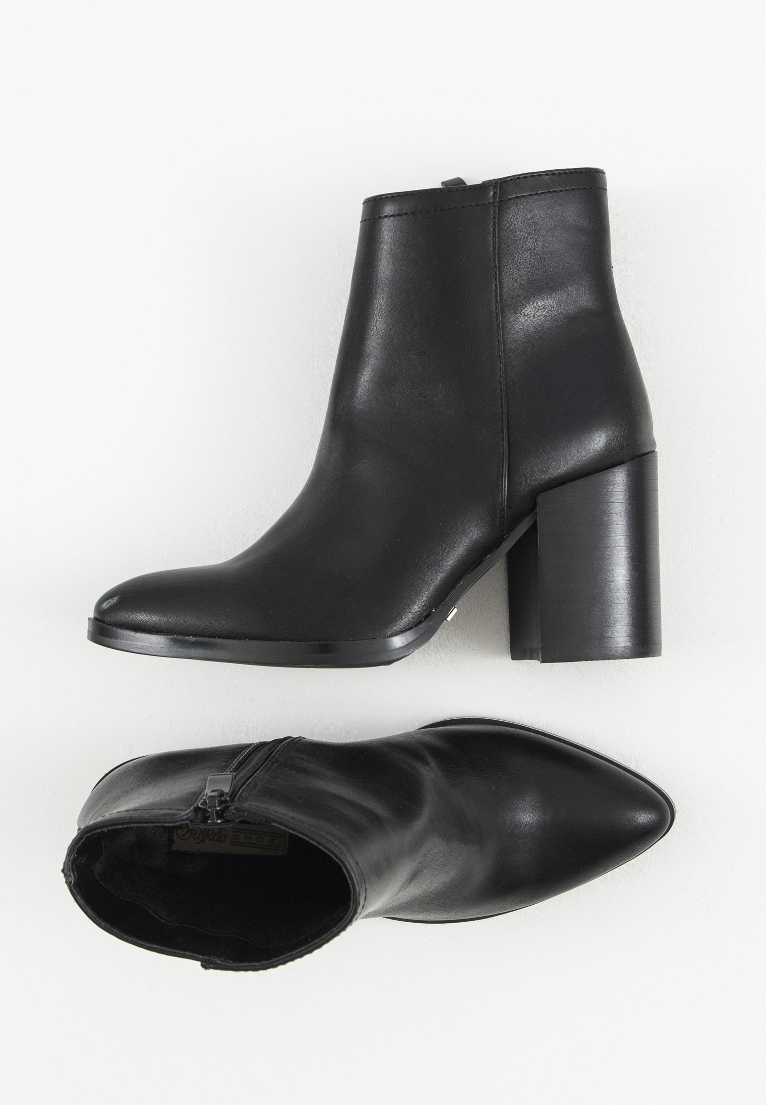 Buffalo Stiefel / Stiefelette / Boots Schwarz Gr.36