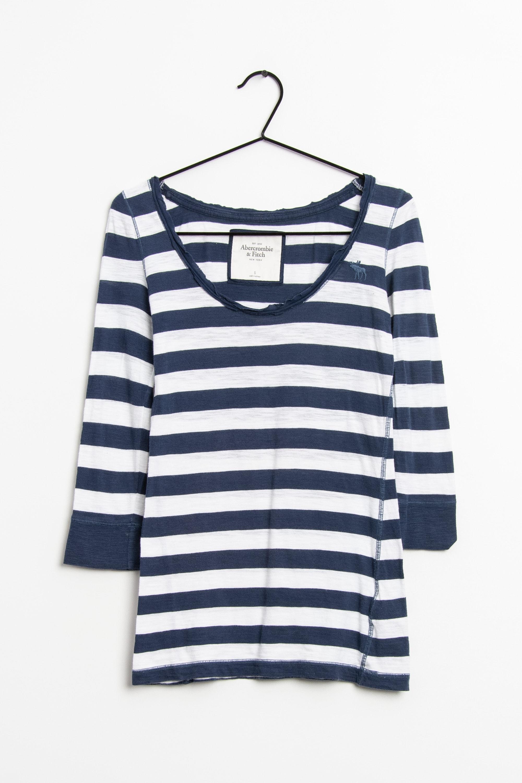 Abercrombie & Fitch Langarmshirt Blau Gr.S