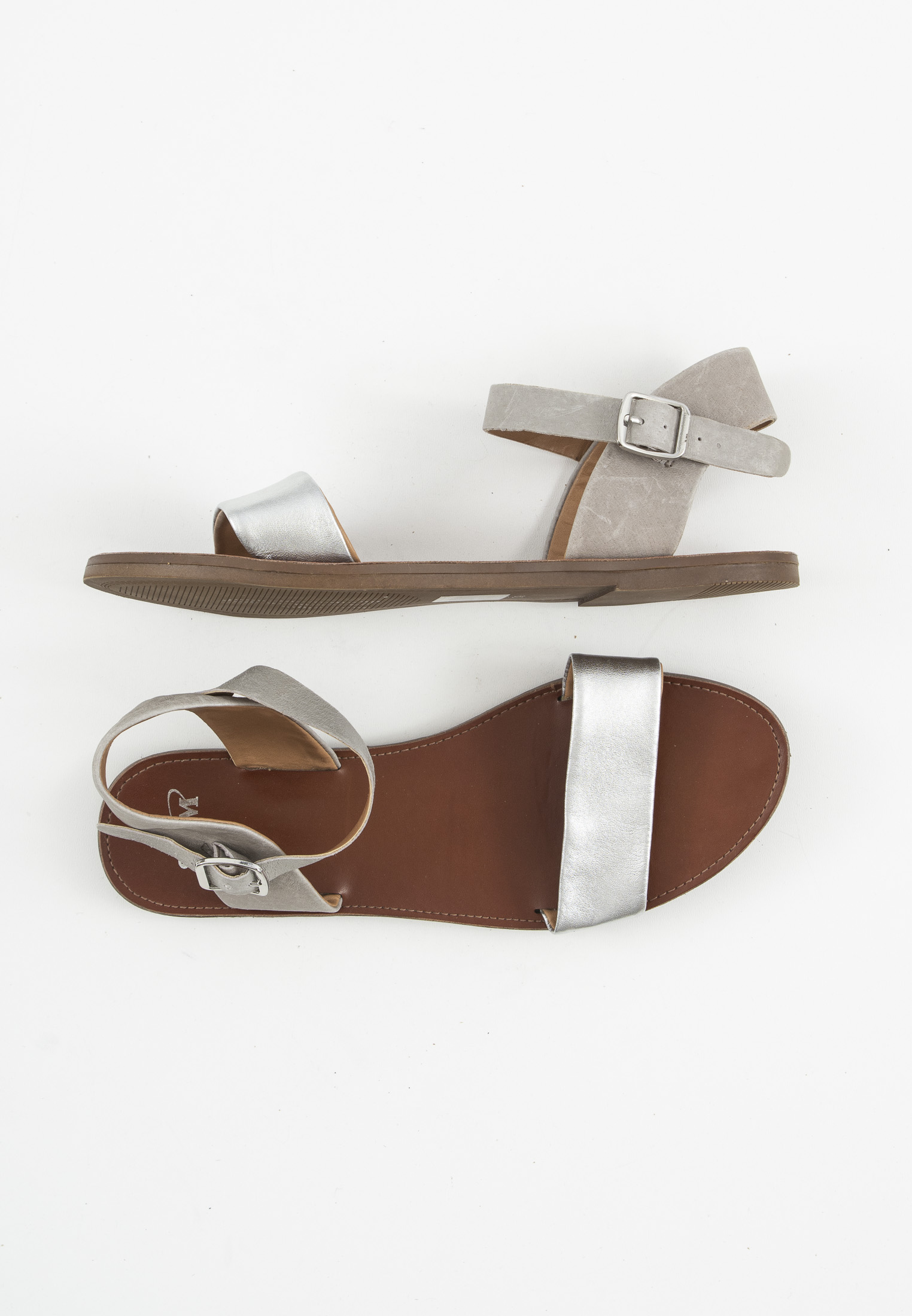 SPM Sandale Grau Gr.39