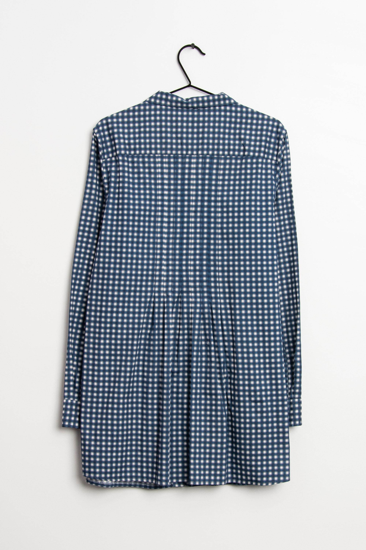 0039 Italy Kleid Blau Gr.L