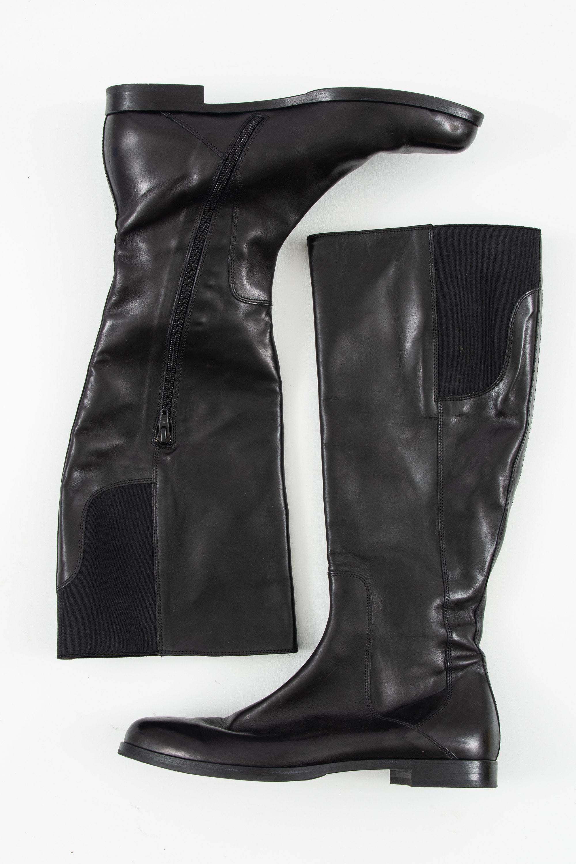 AGL Attilio Giusti Leombruni Stiefel / Stiefelette / Boots Schwarz Gr.40