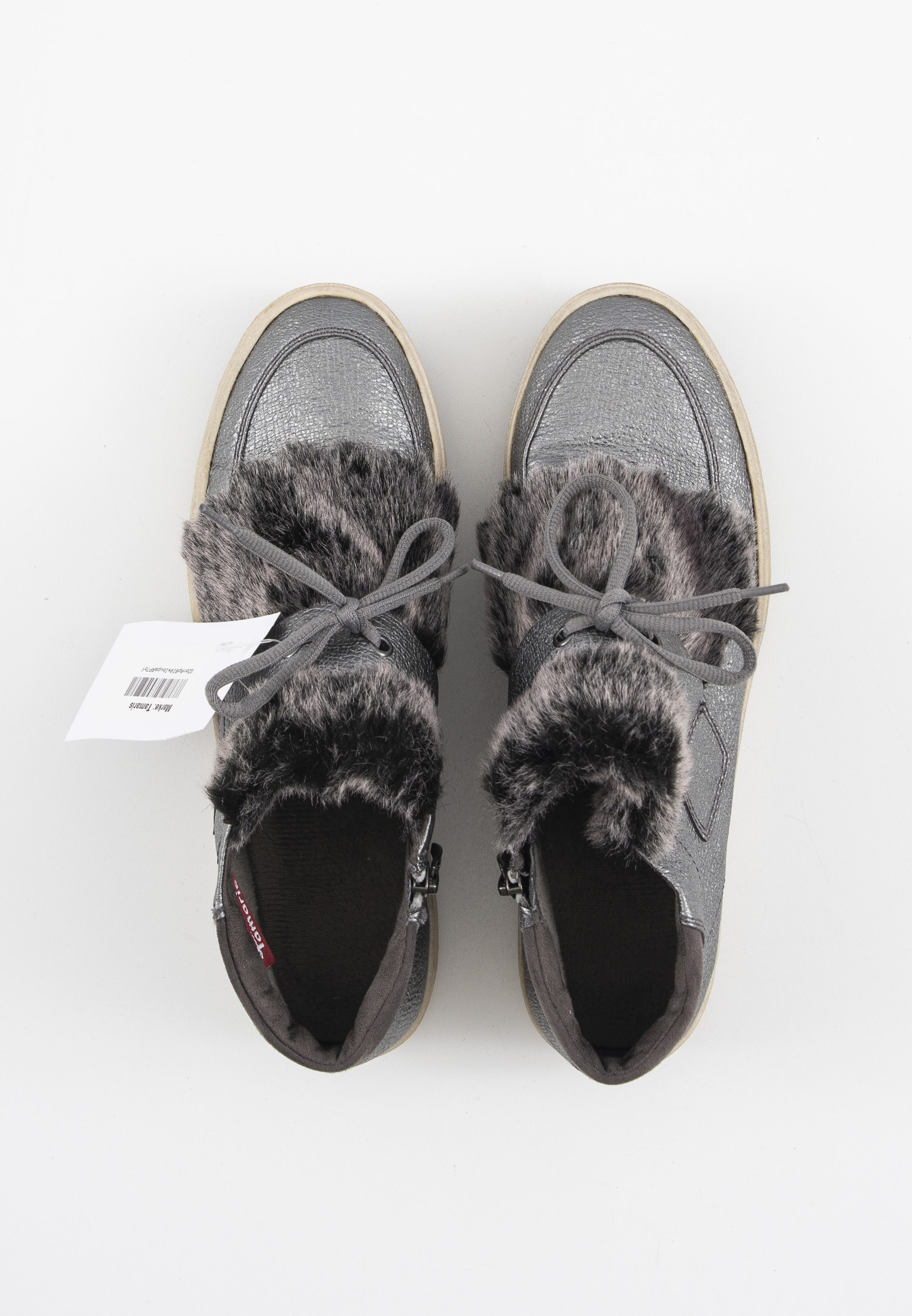 Tamaris Stiefel / Stiefelette / Boots Grau Gr.41