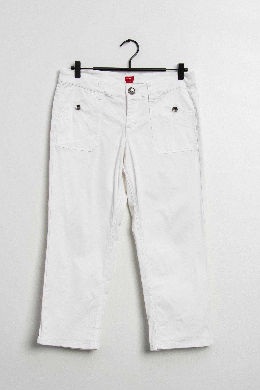 Esprit Stoffhose Weiß Gr.40