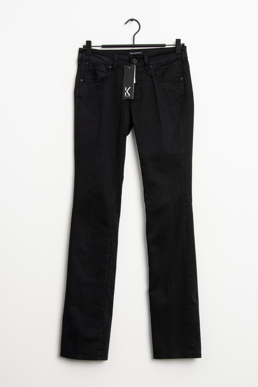 KARL LAGERFELD Jeans Schwarz Gr.W26 L34