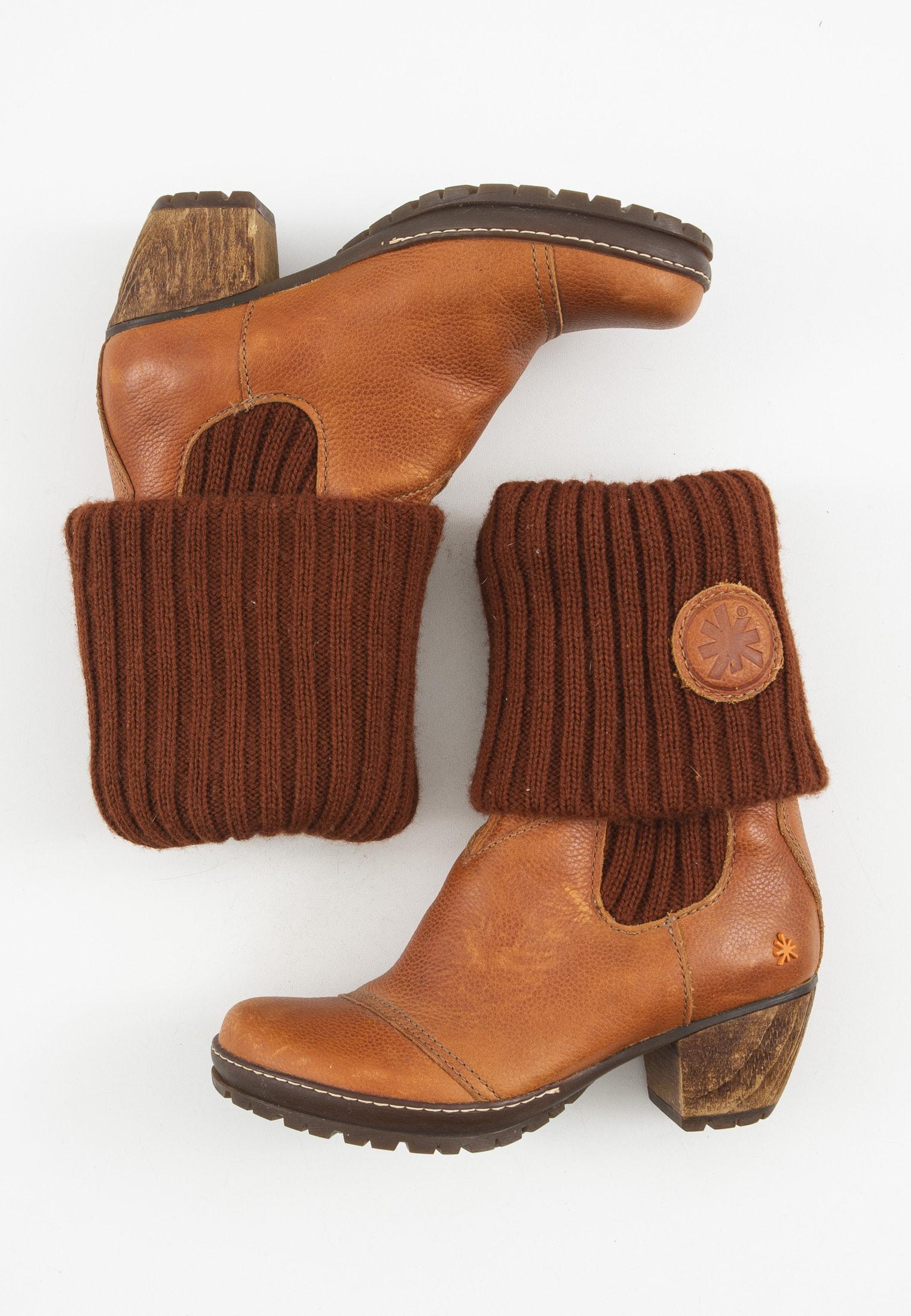 Art Stiefel / Stiefelette / Boots Orange Gr.37
