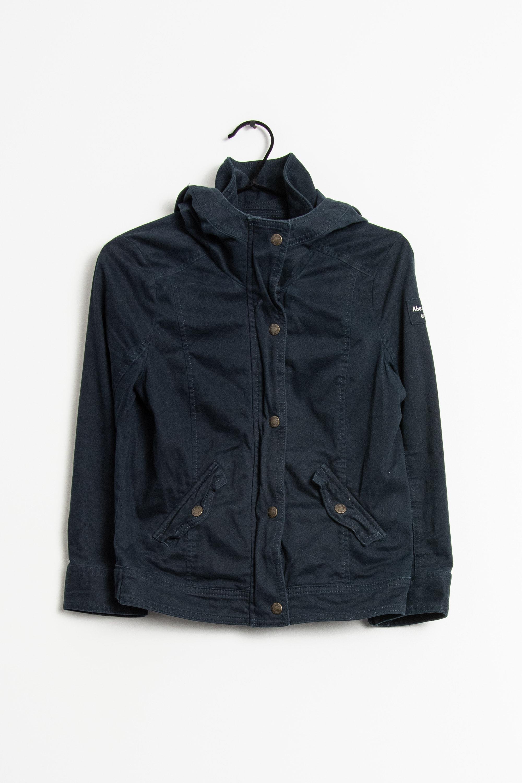 Abercrombie & Fitch Leichte Jacke / Fleecejacke Blau Gr.L