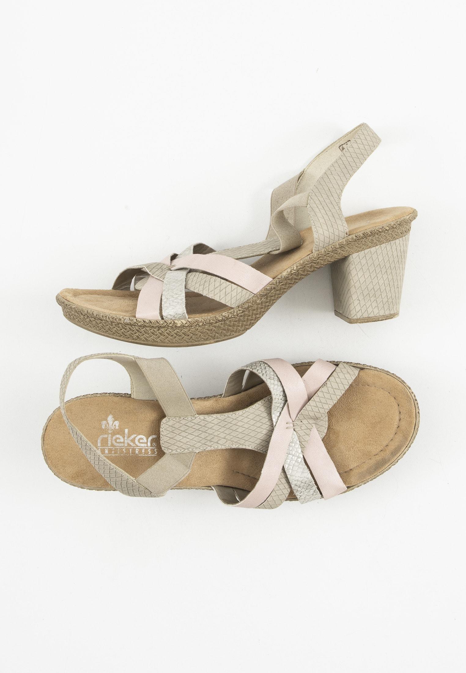 Rieker Sandale Beige Gr.41