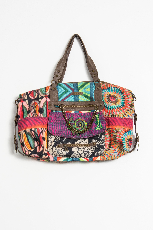 Desigual Tasche Mehrfarbig