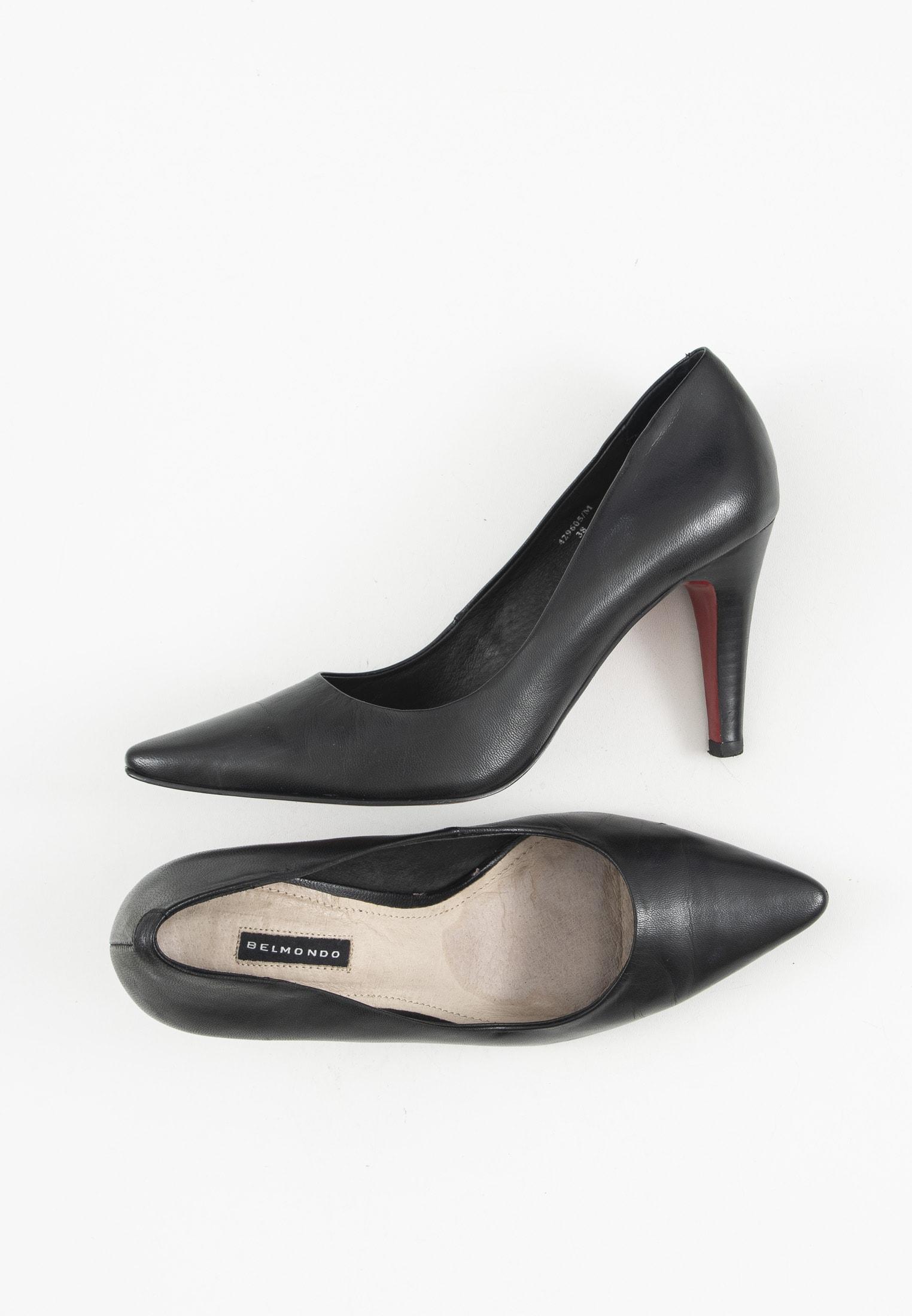 Belmondo Stiefel / Stiefelette / Boots Schwarz Gr.38