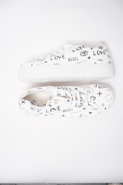 Asos Sneakers Weiß Gr.40