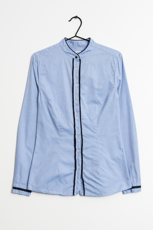 0039 Italy Bluse Blau Gr.S