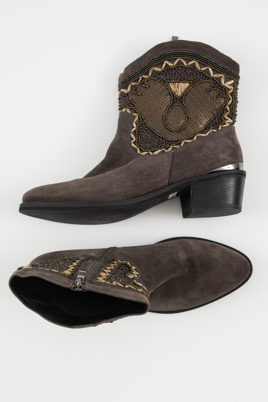 Alma en Pena Stiefel / Stiefelette / Boots Braun Gr.40