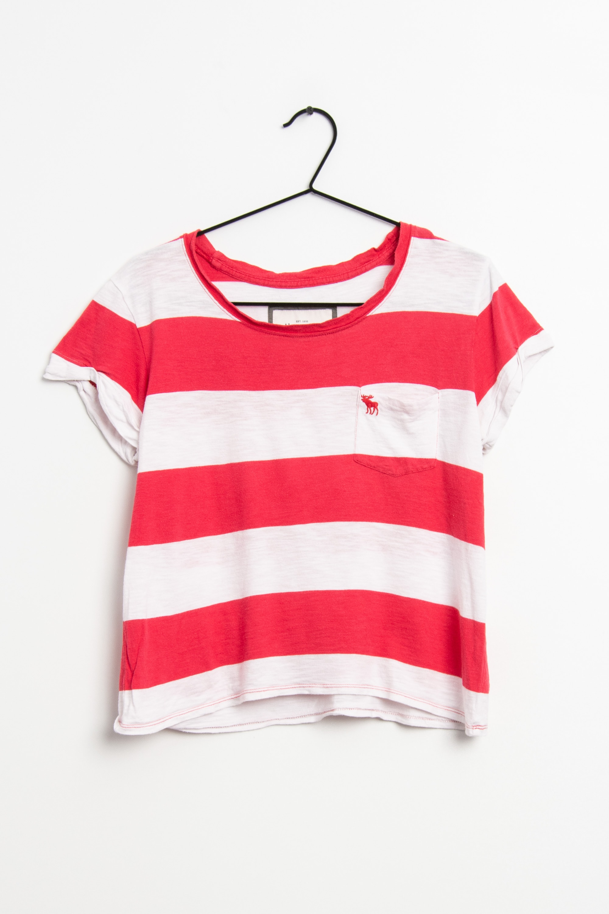 Abercrombie & Fitch T-Shirt Rot Gr.M