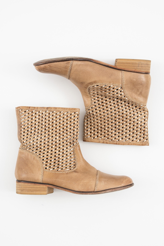 AALM Stiefel / Stiefelette / Boots Braun Gr.41