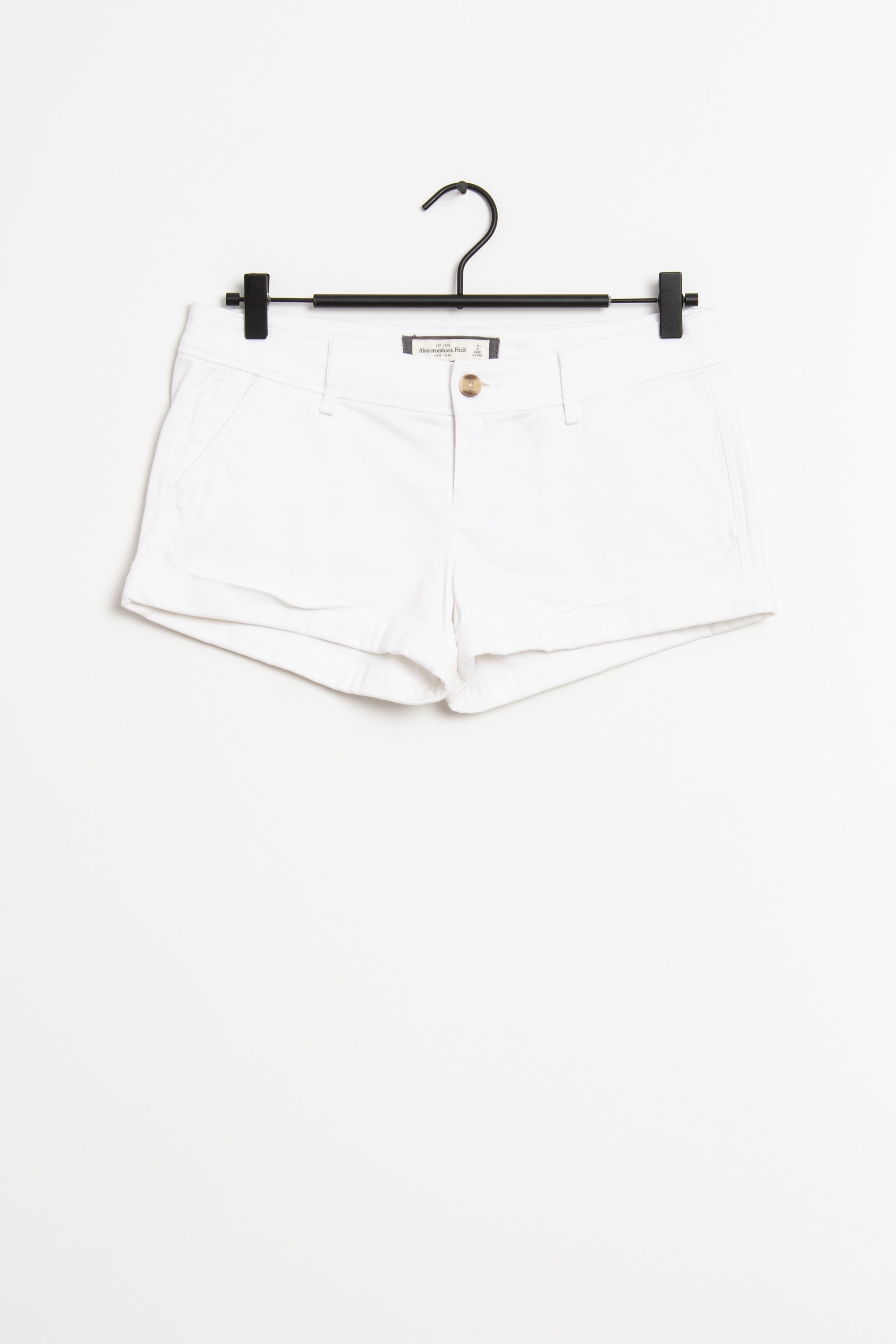 Abercrombie & Fitch Shorts Weiß Gr.34