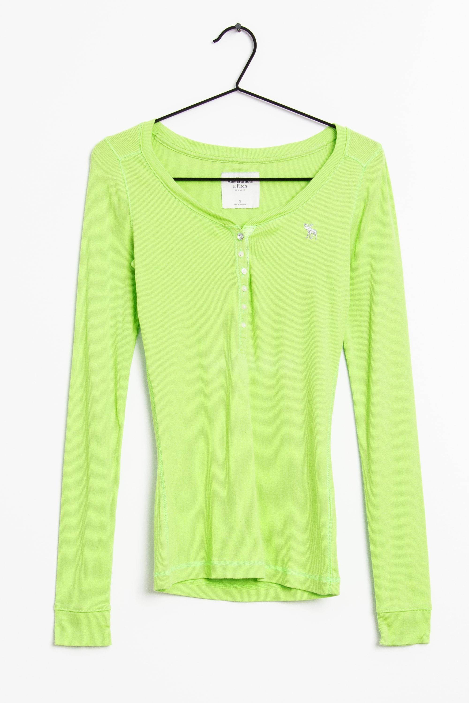 Abercrombie & Fitch Langarmshirt Grün Gr.S