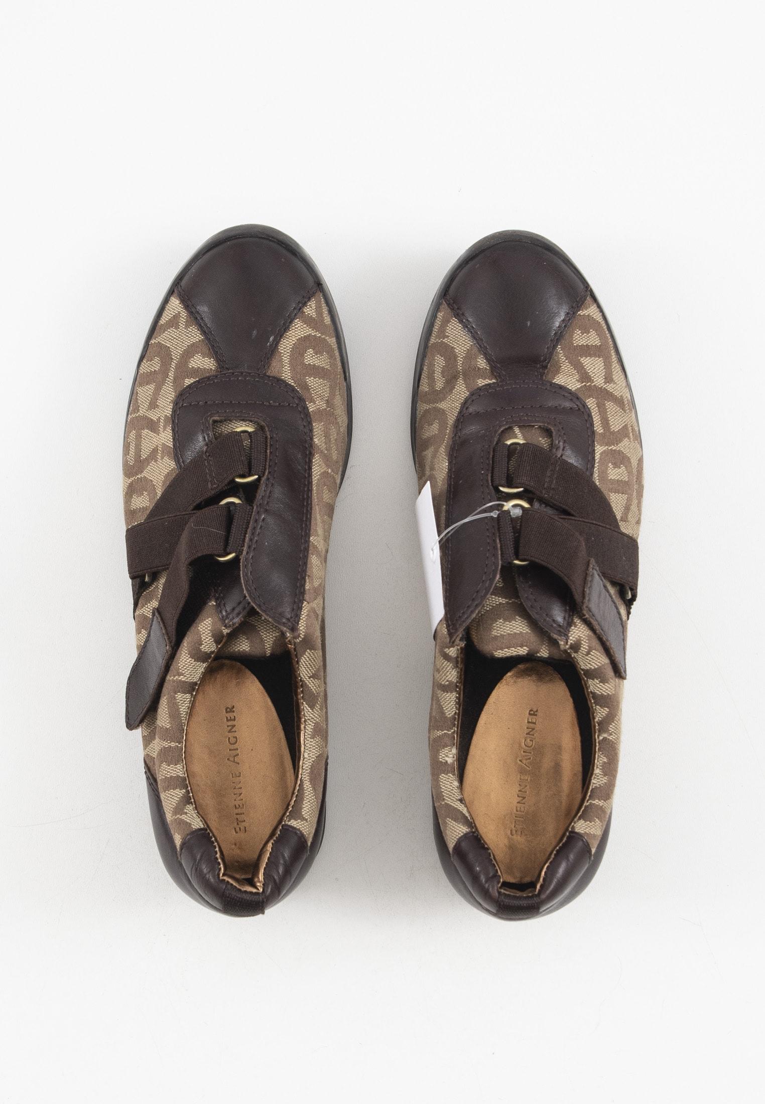 Aigner Sneakers Braun Gr.40.5
