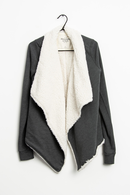 Abercrombie & Fitch Mantel Grau Gr.M