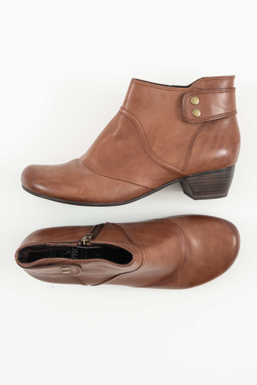 Caprice Stiefel / Stiefelette / Boots Braun Gr.38.5