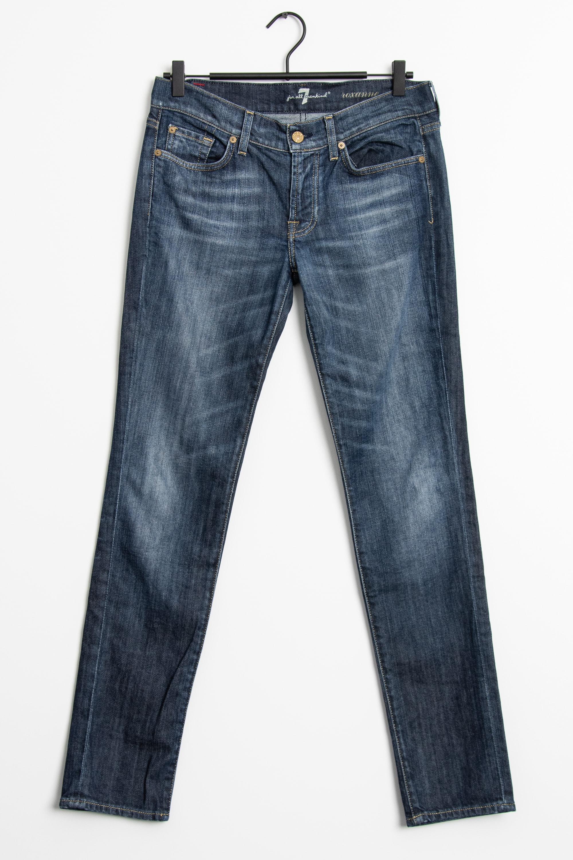7 FOR ALL MANKIND Jeans Blau Gr.S