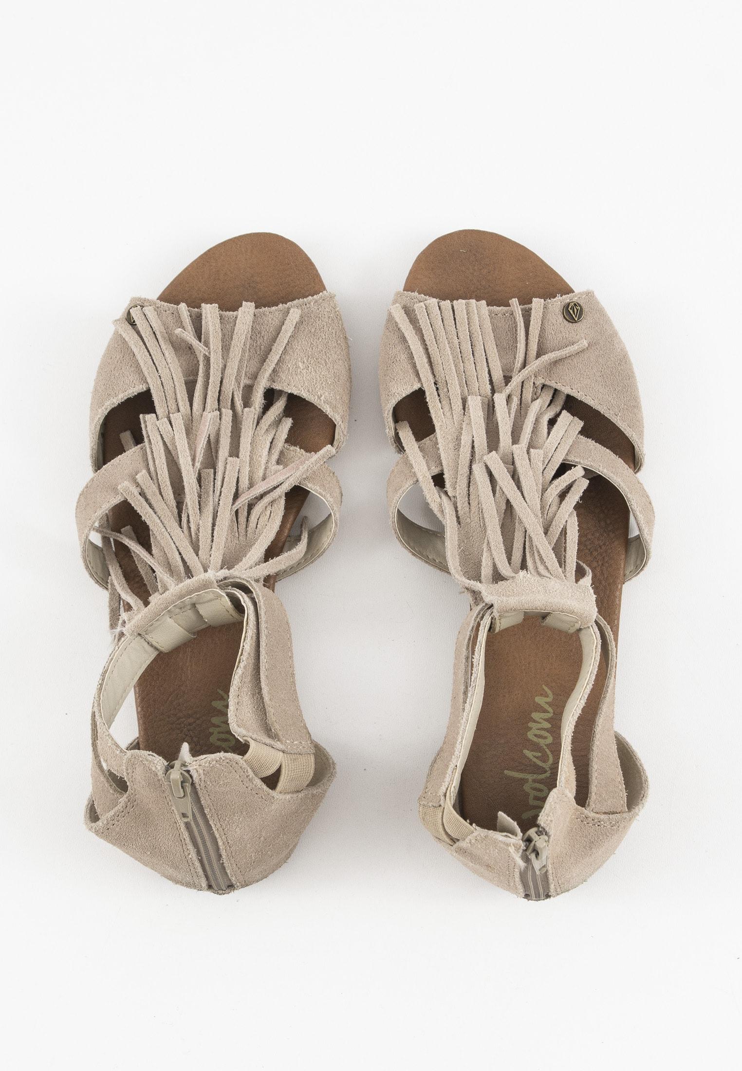 Volcom Sandale Beige Gr.37