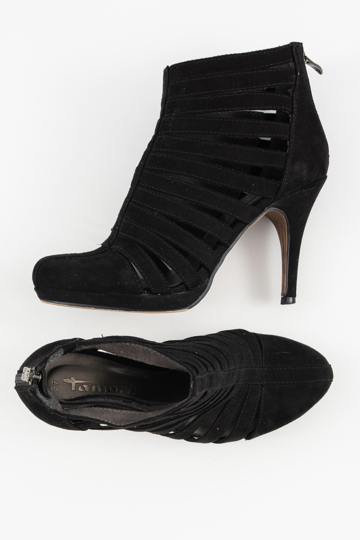 Tamaris Stiefel / Stiefelette / Boots Schwarz Gr.37