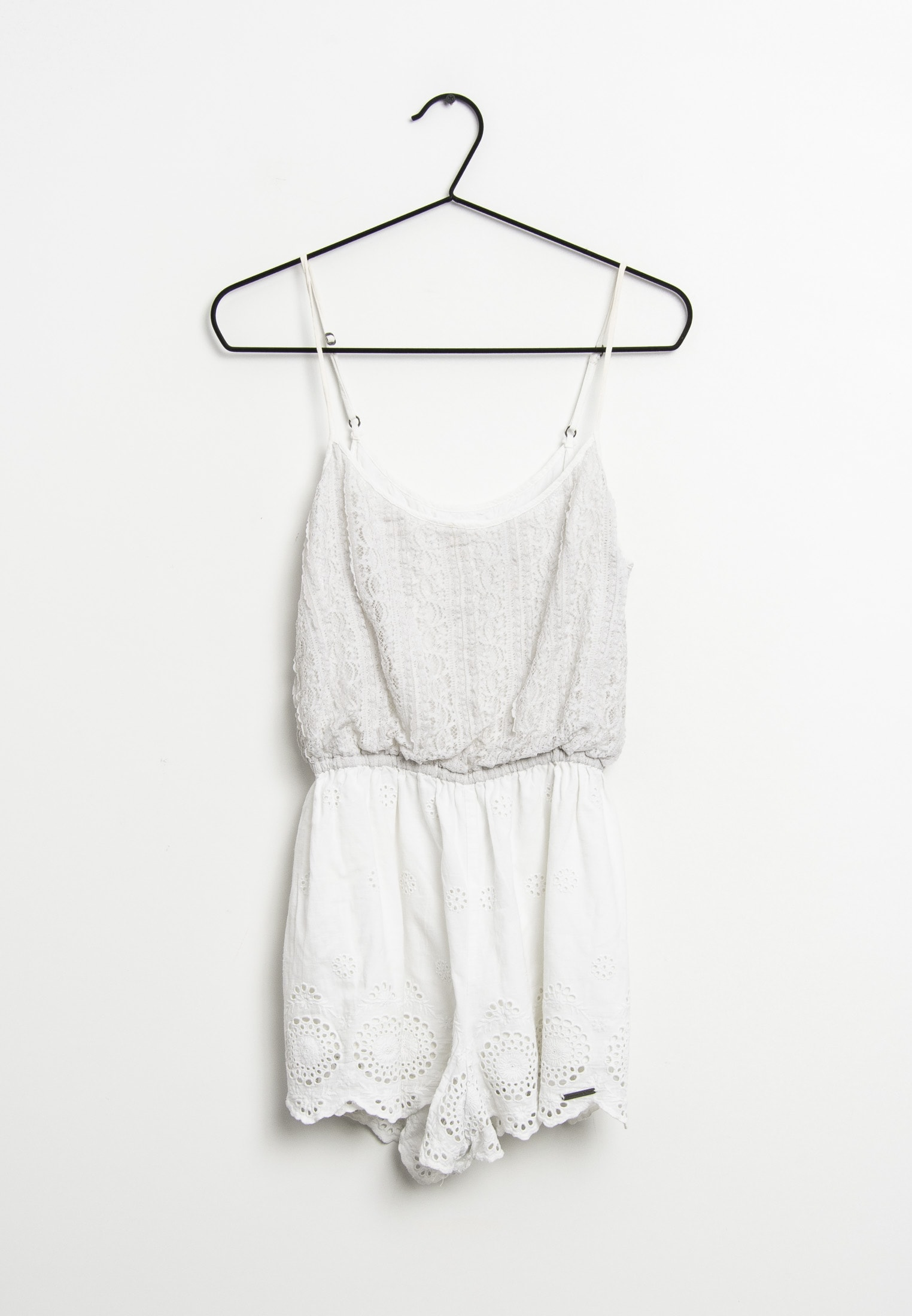 Abercrombie & Fitch Jumpsuit / Overall Weiß Gr.M