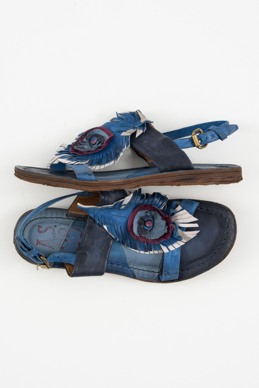 A.S.98 Sandale Blau Gr.39