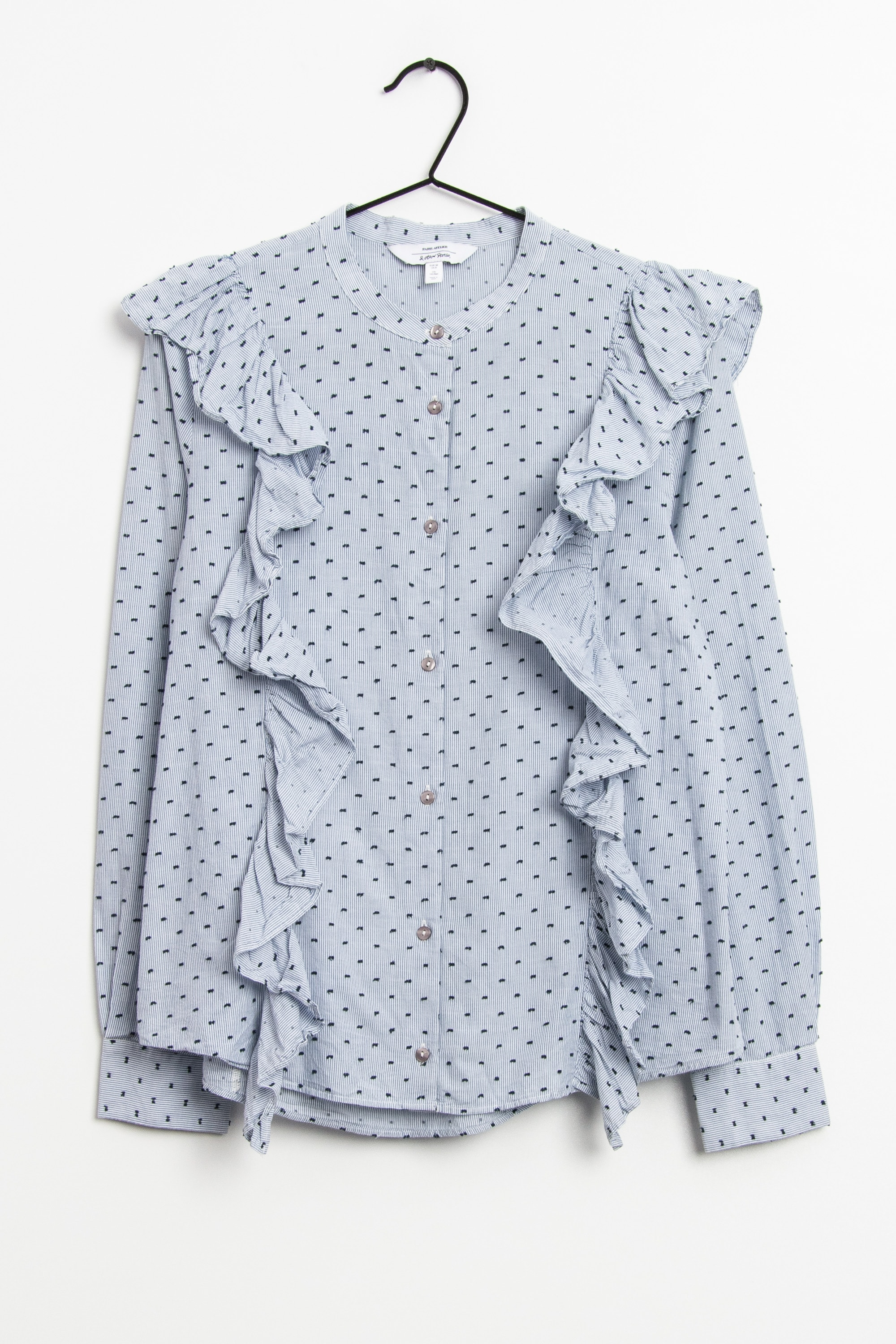 & other stories Bluse Blau Gr.38
