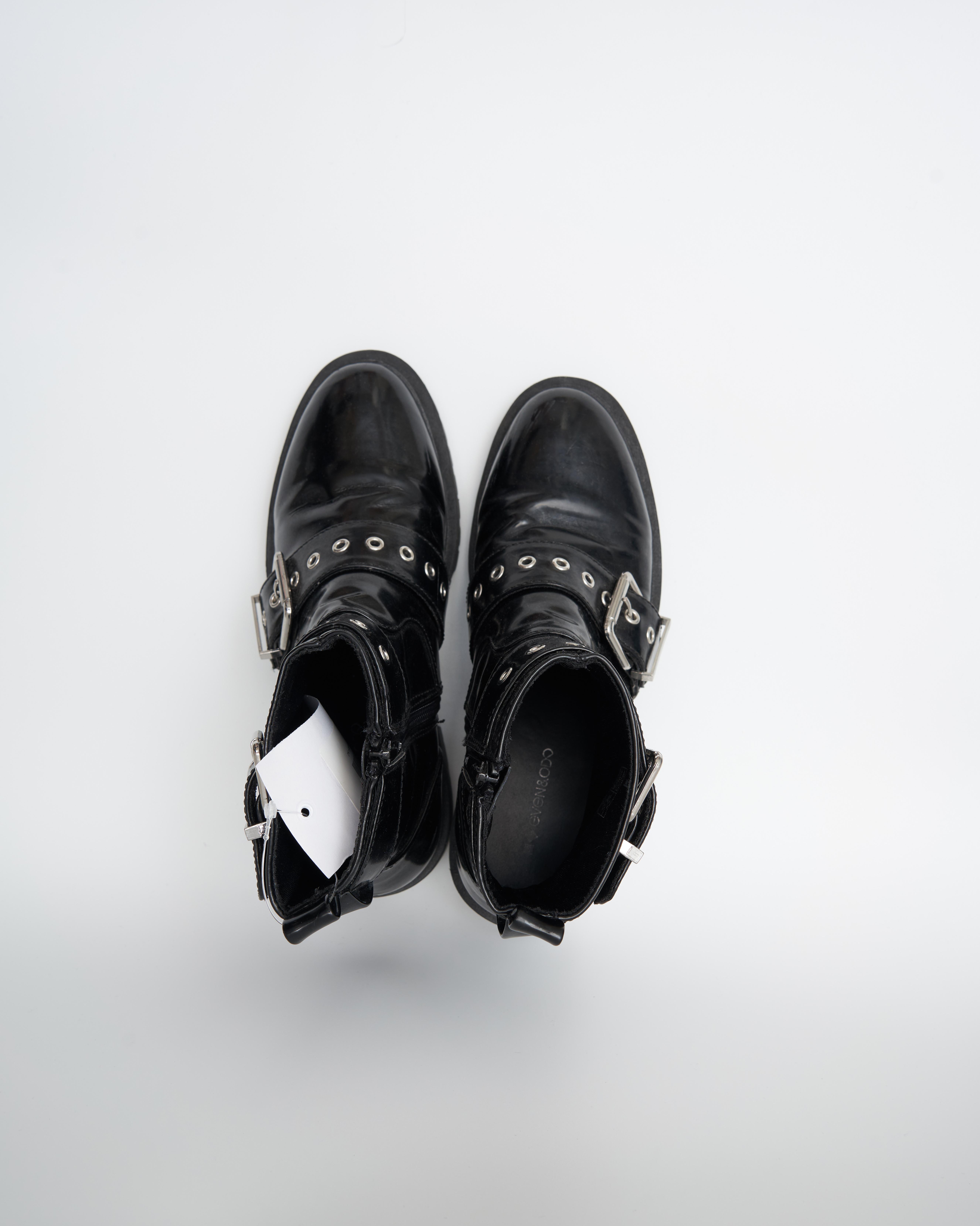 Even&Odd Stiefel / Stiefelette / Boots Schwarz Gr.37