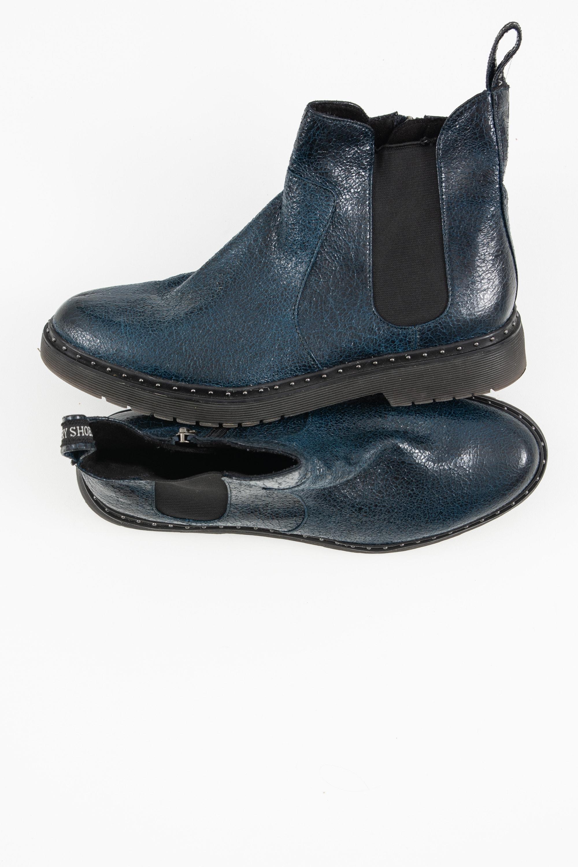 Tamaris Stiefel / Stiefelette / Boots Blau Gr.41