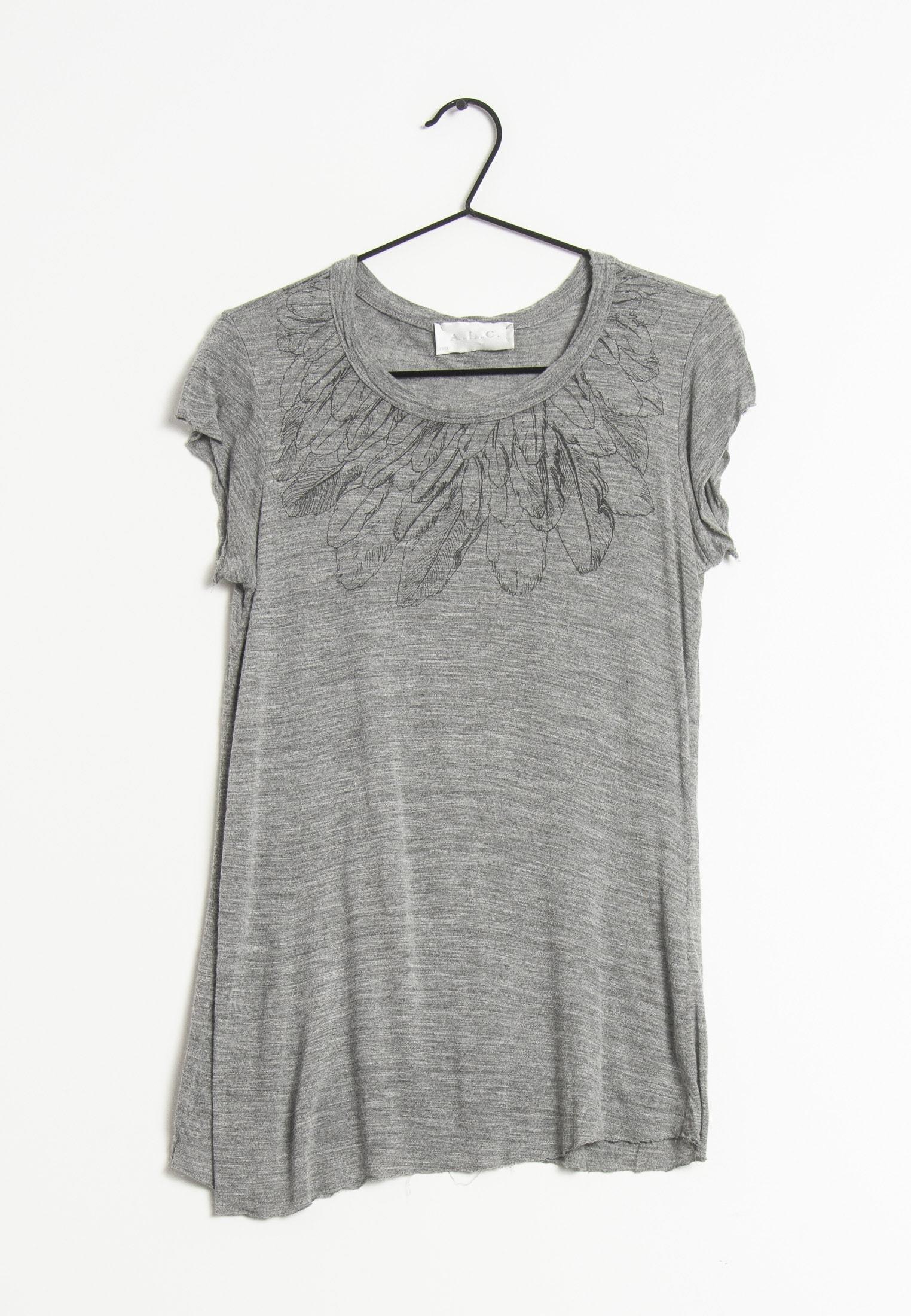 A.L.C. T-Shirt Grau Gr.S